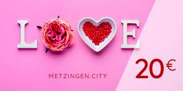 METZINGER GUTSCHEIN LOVE