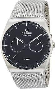 オバク OBAKU メンズ腕時計 V176GMCBMC
