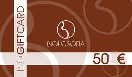 BIO GIFT CARD – 50 €