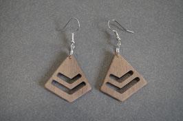 Bijou bois minimaliste Pyramide fermée