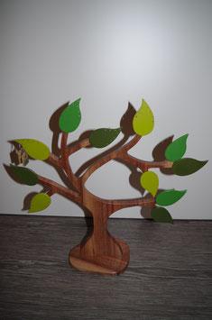 PORTE-BIJOUX Bois Noyer GRAND modèle