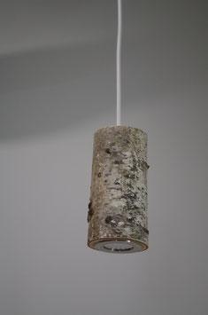 Lampe suspension, branche de bouleau 1 BRANCHE #L1BBB1