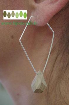 Boucles d'oreilles Bois Diamond