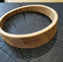 Bracelet bois asymétrique en chêne #BRA10