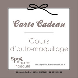 Cours d'auto maquillage