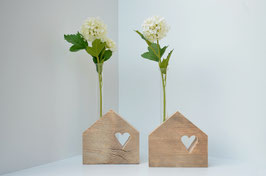 Blumenhaus mit Herz