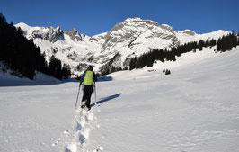 Sa 27. Januar 2017 - Schneeschuh-Wanderung mit Outdoor-Fondue und Schlittenfahrt - 1 Tag