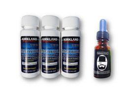 Kit Minoxidil + Aceite estimulante