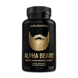 Alpha Beard - Vitamina para barba 60 cap.
