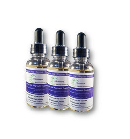 3 frascos de minoxidil 5% + Bloqueadores de DHT