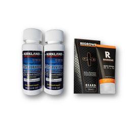 Minoxidil + balsamo Regrowe PLUS