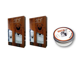 2 Kit Minox5 Beard + Pomada Boston GRATIS