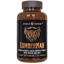 Suplemento para barba Lumberman - Feelz Good - 60 cap.