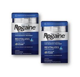 Minoxidil Rogaine (Espuma)  6 meses de uso