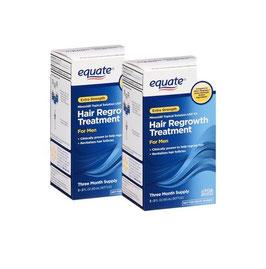 Tratamiento para 6 meses con minoxidil Equate (Liquido)
