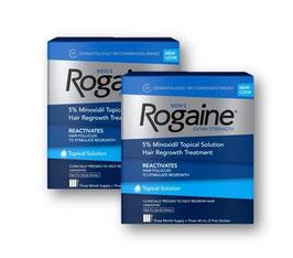 Minoxidil Rogaine Liquido para 6 meses de uso