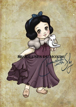 BABY BLANCHE NEIGE N°P7