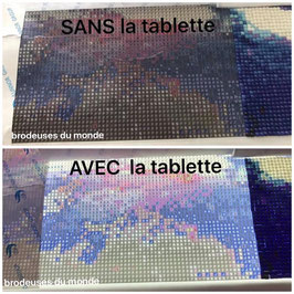 TABLETTE A LED pour la broderie diamants
