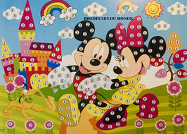 MICKEY ET MINNIE  N° 16E