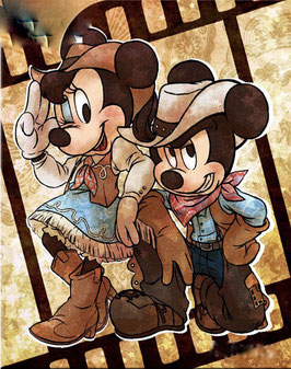 MICKEY  COW BOY N°438