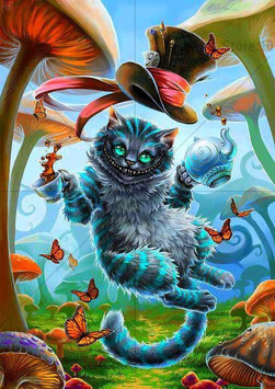 LE CHAT CHESHIRE N°