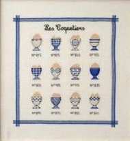 ABC COLLECTION LES COQUETIERS BLEU N°M