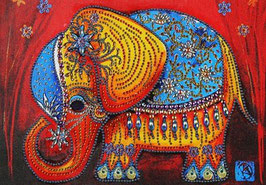 ELEPHANT INDIEN STRASS N° PA15