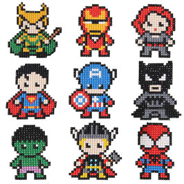9 STICKERS AVENGER