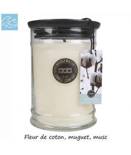 "Bougie parfumée ""White Cotton"" 524g - Bridgewater"