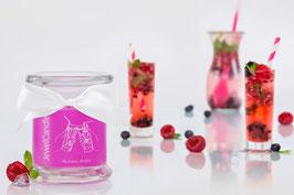 "Bougie parfumée ""Mulberry Mojito"" (boucles d'oreilles) - JewelCandle"