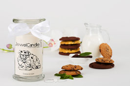 "Bougie parfumée ""Cookies & Cream"" (bracelet) - JewelCandle"