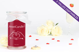 "Bougie parfumée ""True Love"" (bague) - JewelCandle"