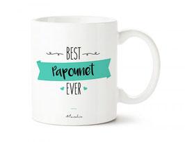 "Mug ""Best papounet ever"""