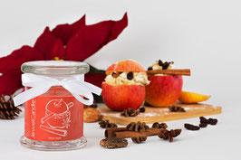 """Bougie parfumée """"Baked Apple"""" (boucles d'oreilles) - JewelCandle"""