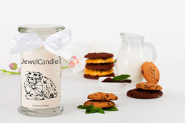 "Bougie parfumée ""Cookies & Cream"" (collier) - JewelCandle"