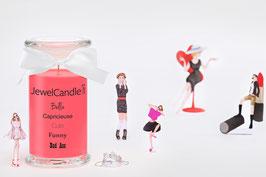 "Bougie parfumée ""Bella, Capricieuse, Cute, Funny, Bad Ass"" (bracelet) - JewelCandle"