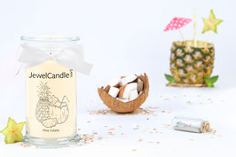 "Bougie parfumée ""Pina Colada"" (collier) - JewelCandle"