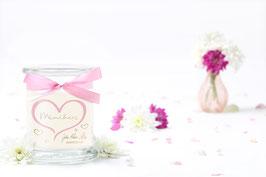 """Bougie parfumée """"Miniherz"""" (boucles d'oreilles) - JewelCandle"""