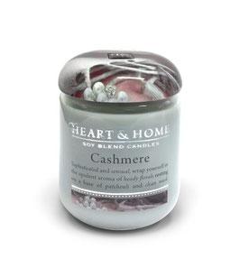 "Bougie parfumée ""Cachemire"" 115g - Heart & Home"