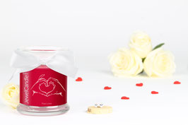 "Bougie parfumée ""True Love"" (boucles d'oreilles) - JewelCandle"