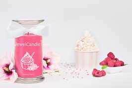 "Bougie parfumée ""Raspberry Yoghurt"" (collier) - JewelCandle"