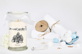 "Bougie parfumée ""Fluffy Cotton"" (collier) - JewelCandle"
