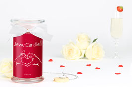 "Bougie parfumée ""True Love"" (collier) - JewelCandle"