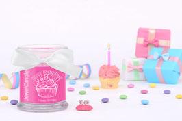"Bougie parfumée ""Happy Birthday"" (boucles d'oreilles) - JewelCandle"