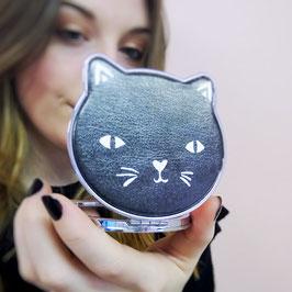 Miroir chat noir ou blanc