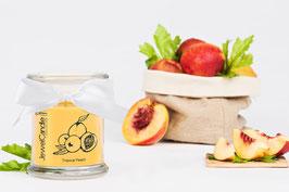 """Bougie parfumée """"Tropical Peach"""" (boucles d'oreilles) - JewelCandle"""