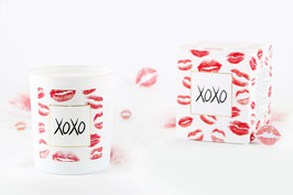 "Bougie parfumée ""XOXO"" (collier) - JewelCandle"