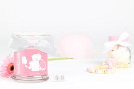 "Bougie parfumée ""Candy Floss"" (boucles d'oreilles) - JewelCandle"