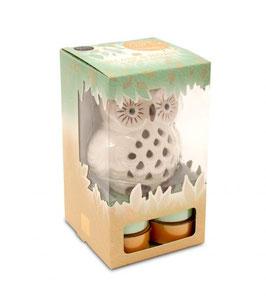 Coffret cadeau lanterne et bougies parfumées (lumignons) - Heart & Home
