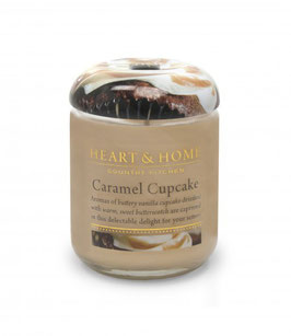 "Bougie parfumée ""Cupcake Caramel"" 115g - Heart & Home"
